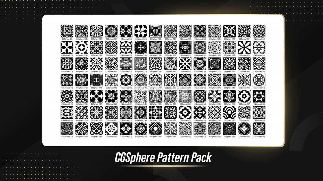 贴图纹理:400种布料贴图纹理图案布料贴花 626CG资源站
