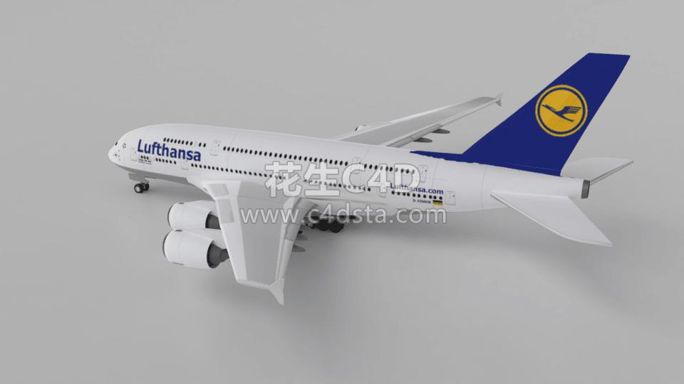 三维模型-大型飞机客机模型 626CG资源站