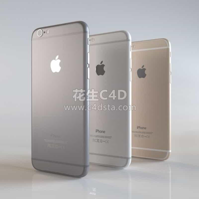 三维模型-iPhone 6模型苹果手机 626CG资源站