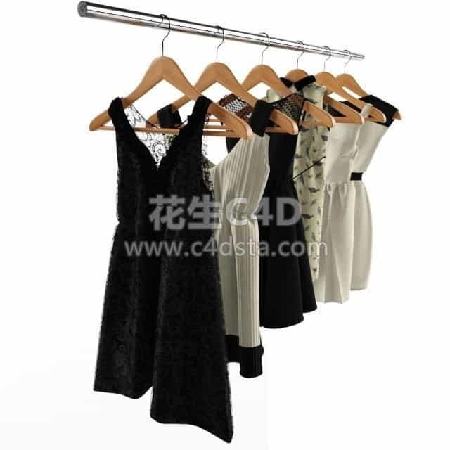 三维模型-衣服模型服饰服装模型 626CG资源站