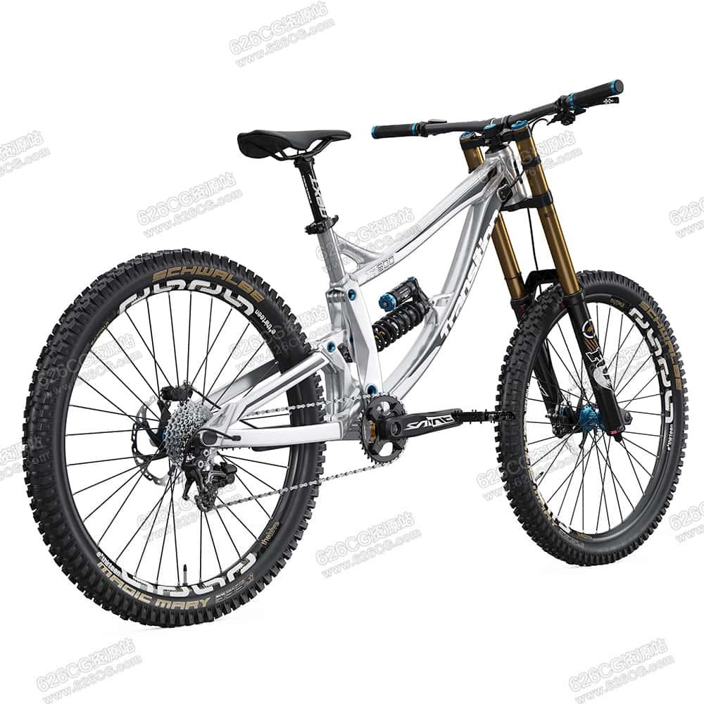 三维模型:自行车竞速自行车山地自行车单车比赛自行车 626CG资源站