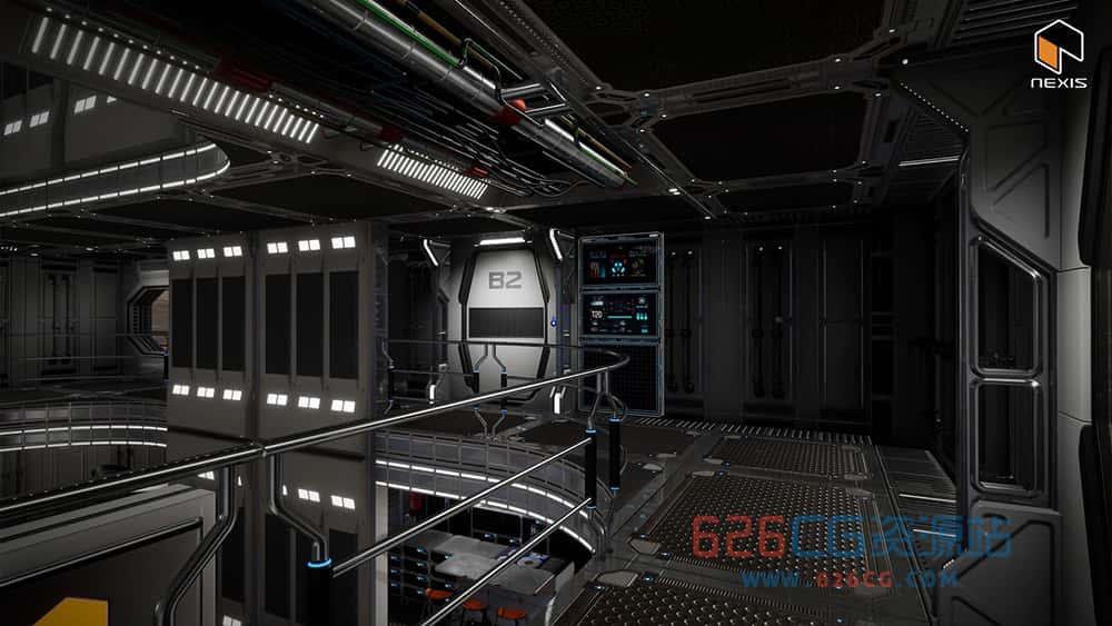 虚幻引擎——科幻猎户座火星生活宿舍 v4.26 Sci Fi Orion Mars Living Quarters v4.26 626CG资源站