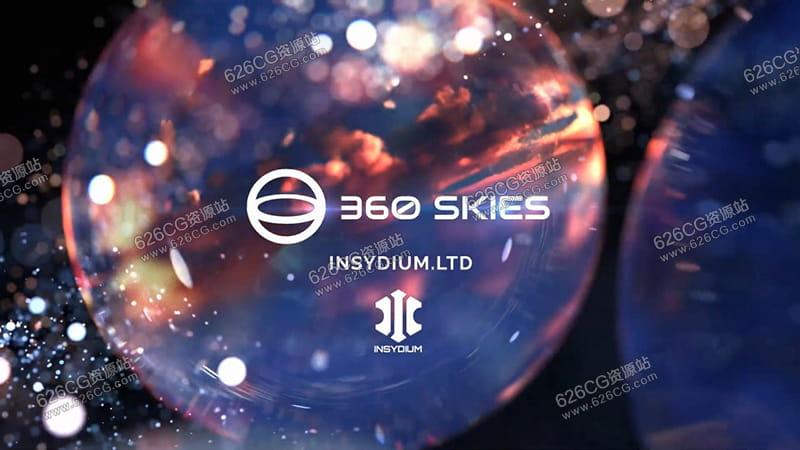 126张12K高质量天空HDR贴图 360 Skies - OUT NOW! 626CG资源站